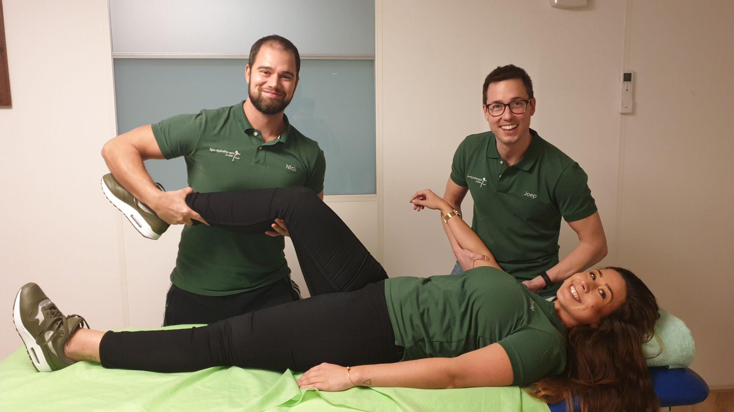 Persoonlijke behandeling volgen bij sportfysiotherapie zuilen