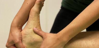 Fysiotherapie behandeling in Utrecht Zuilen voor enkel